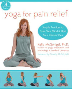yoga for pain relief cover image
